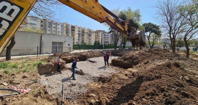Macera Parkı'nın yapımı sürüyor