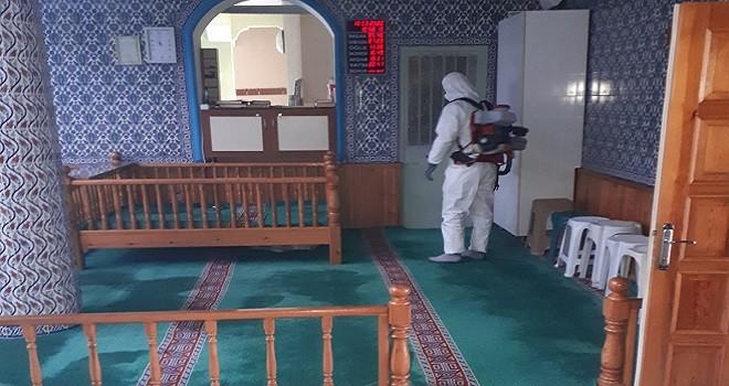 Karşıyaka Camiileri baştan aşağı temizlendi