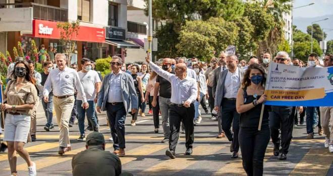 İzmir'de Otomobilsiz Kent Günü...