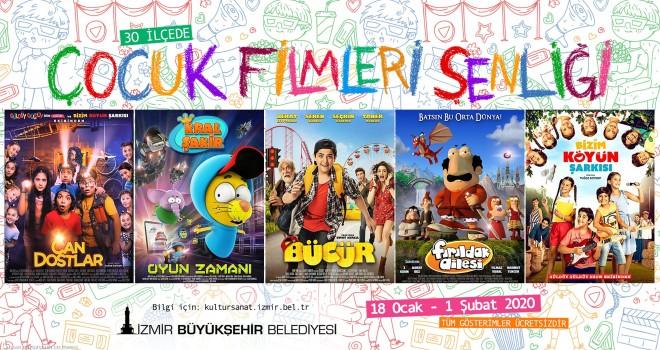İzmir'de çocuklara tatil sineması