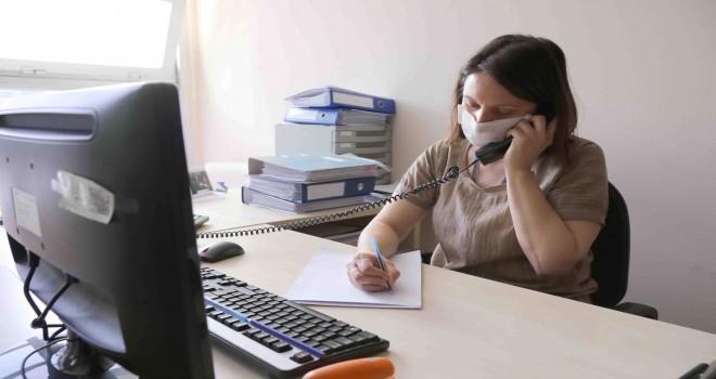 4 ayda 132 kişi telefonla psikolojik destek aldı