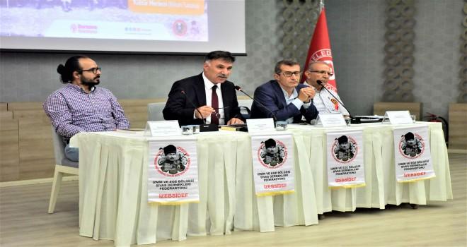 Sivas Kongresi'nin 100. Yılı Bornova'da anlatıldı
