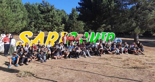 Bostanlıspor Oryantiringcileri Uluslararası kampa katıldı