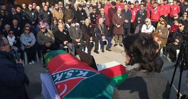 Dr. Bülent Zeren için Karşıyaka Yelken'de tören yapıldı