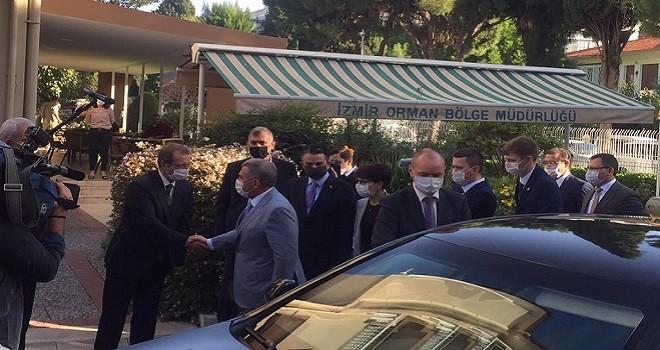 Tataristan Cumhurbaşkanı Karşıyaka'da...