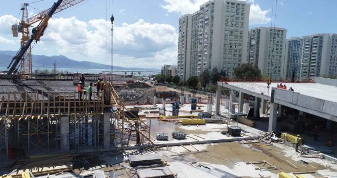 İzmir Opera Binası'nın yüzde 40'ı tamamlandı