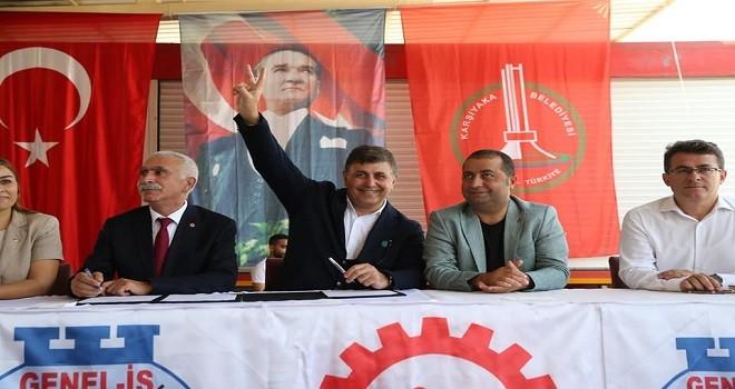 Karşıyaka Belediyesi Personel A.Ş ile sözleşme yaptı
