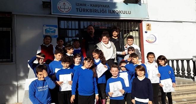 Karşıyaka Türkbirliği İlkokulu'nda sanat engel tanımadı