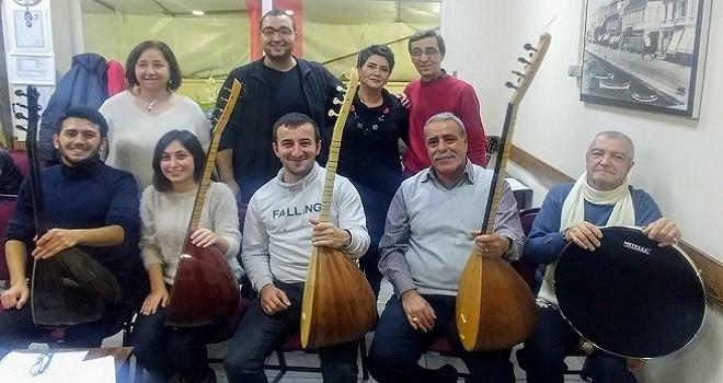 Türküler Sevgili... Konseri yarın akşam...