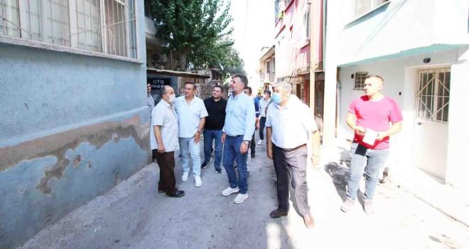 Başkan Sandal: Girmedik sokak, dokunmadığımız insan kalmayacak