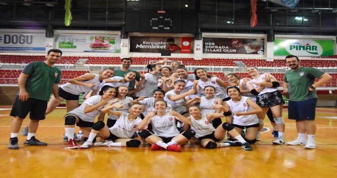 Karşıyakalı Yıldız  Kızlar, Galatasaray'a kaybetti