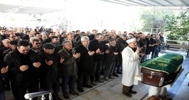Organ naklinden sonra ölen Uslu Karşıyaka'dan uğurlandı