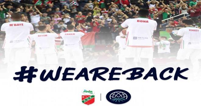 Haberi 11 gün önce vermiştik... Pınar Karşıyaka Şampiyonlar Ligi'ni açıkladı