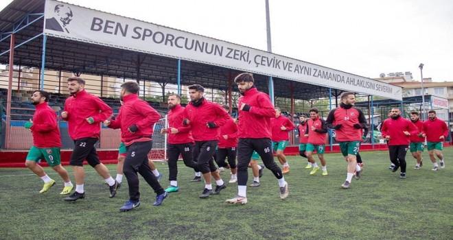 Karşıyaka Çiğli Atatürk Stadı'nda çalıştı