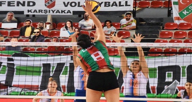 Filede Karşıyaka, Fenerbahçe'yi kolay geçti