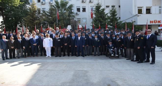Gaziler Karşıyaka'da unutulmadı