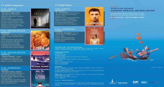 Akdeniz Sinemaları İzmir'de buluşuyor