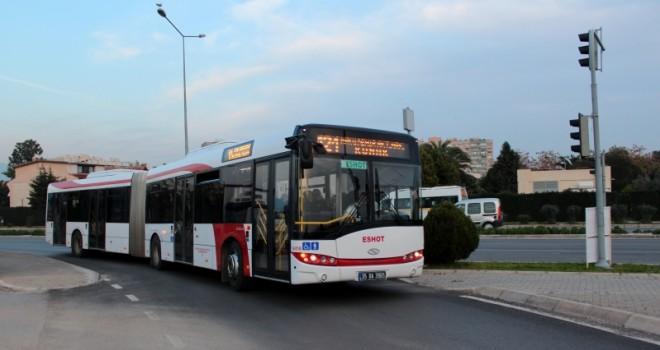 121 numaralı otobüs kalkıyor...