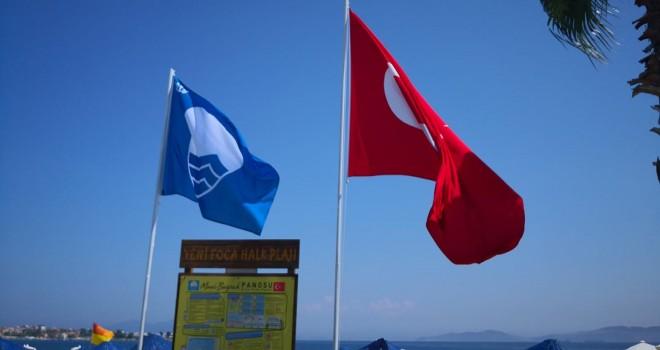 Foça'ya bir mavi bayrak daha