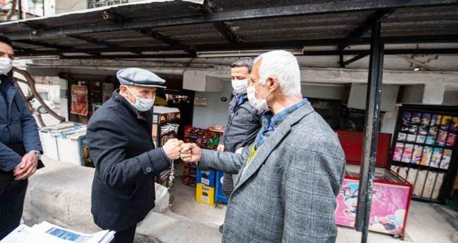 İzmir Büyükşehir Belediyesi'nden 183 milyon liralık pandemi desteği