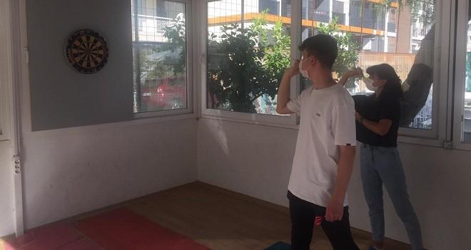 Bostanlıspor'da dart çalışmaları başladı