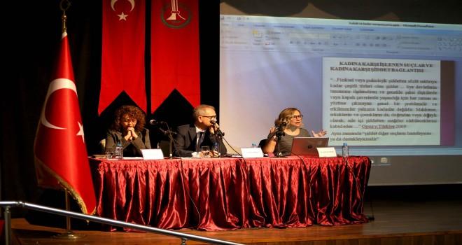 Karşıyakalı kadınlara şiddet eğitimi