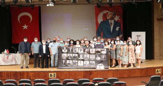 İzmir Tabip Odası 2021 yılı Olağan Genel Kurulu Karşıyaka'da gerçekleştirildi