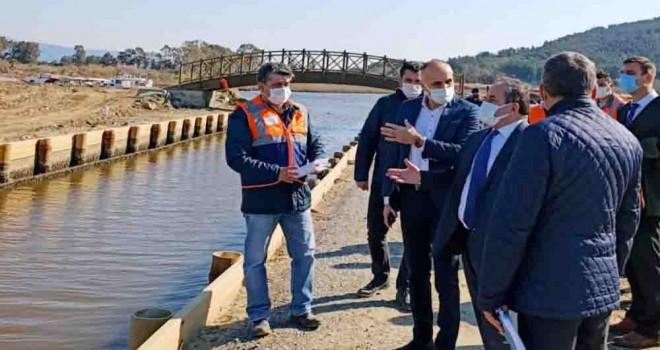Efes Antik Kanal Projesi sürüyor