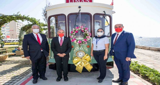 Nostaljik Tramvay 66 yıl sonra hizmete yeniden başladı