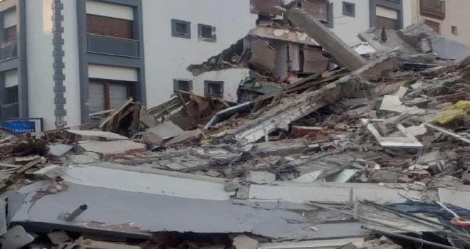 Başkan Tugay'dan bina yıkımında yaşanan olayla ilgili açıklama