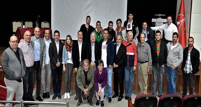 Karşıyaka'da 'Sporda Şiddet Paneli' yapıldı