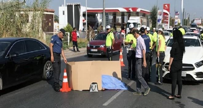 Otomobilin çarptığı yabancı uyruklu kadın öldü
