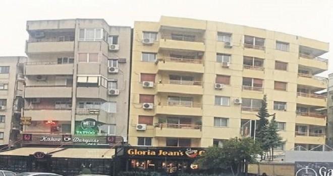 Bostanlı'daki yatık binalar için tahliye tebligatı