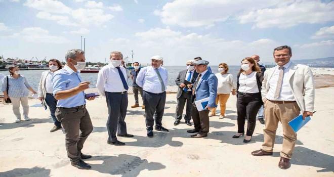 Soyer: Levent Marina'dan tüm İzmir yararlanacak