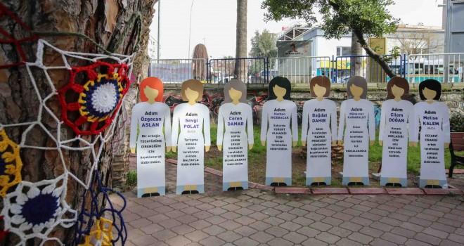 Özgecan Aslan için Şirinyer Parkı'nda farkındalık koridoru