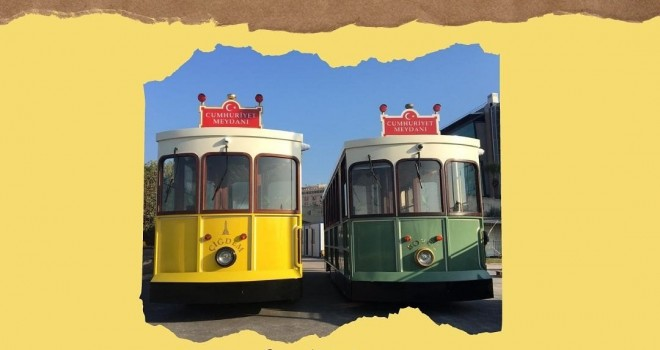 İkinci nostaljik tramvay ''Çiğdem'' geldi