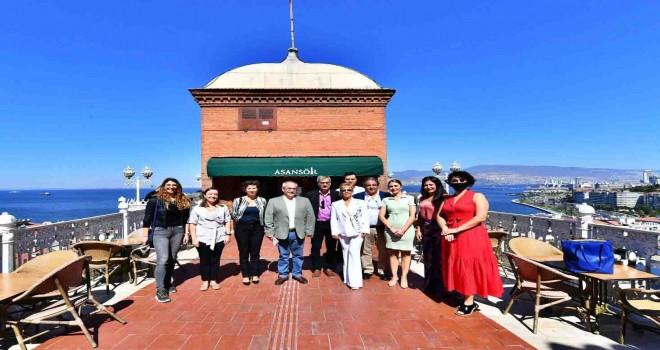 İspanyol gazeteciler İzmir'i ziyaret etti