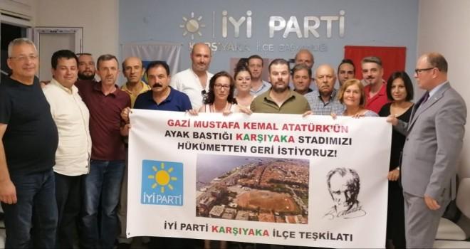İyi Parti, Karşıyaka Stadı için 13 Ekim'de yürüyecek