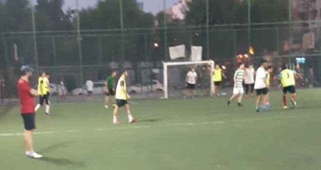 Bostanlıspor'da futbol denemeleri sürüyor...