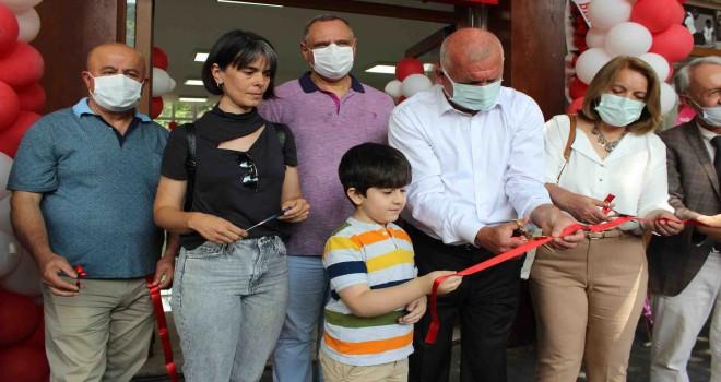 Atatürk Çocukları Şehit Pilot Kara Yüzbaşı Tayfun Kureş Kütüphanesi açıldı