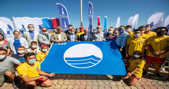 İkinci Liman Halk Plajı'na Mavi Bayrak