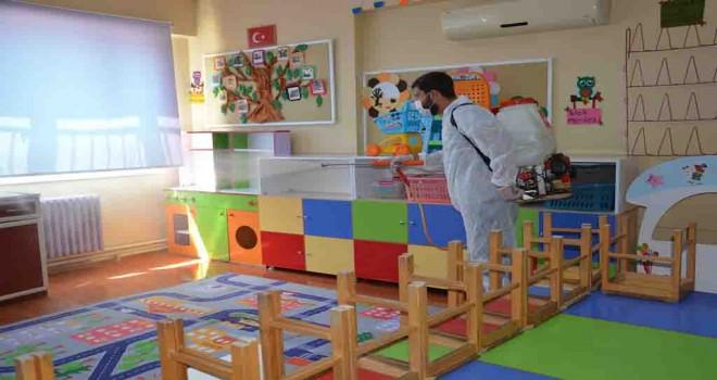Dikili'de okullar eğitim öğretime hazır