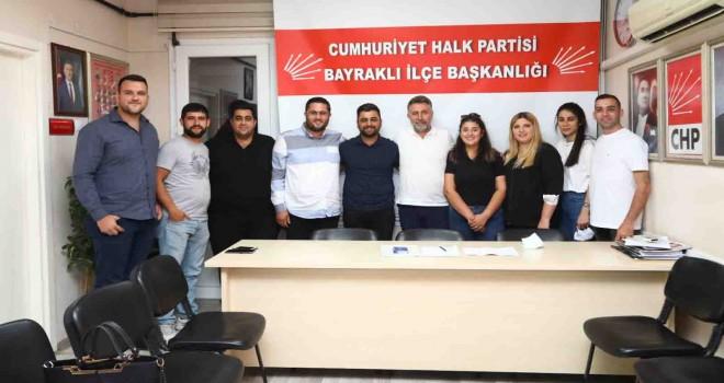 Serdar Sandal, CHP Bayraklı Gençlik Kolları ile buluştu