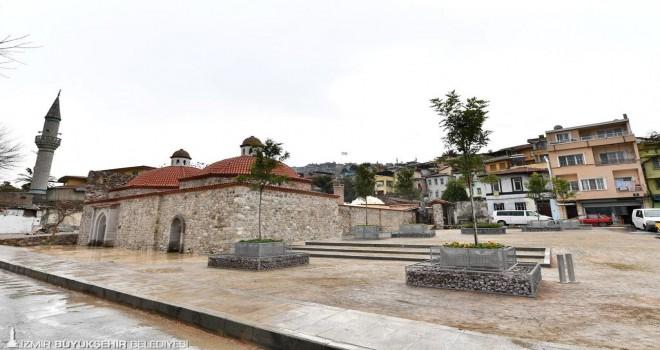 Namazgah Hamamı ve Agora Parkı Cumartesi açılıyor