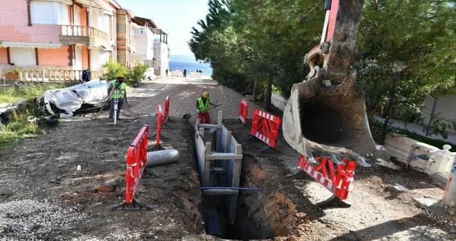 Mordoğan'da kanal altyapısı ve arıtma tesisi kuruluyor