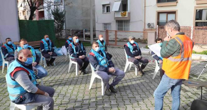 Bayraklı Belediyesi'nde çalışanlara mesleki yeterlilik sınavı