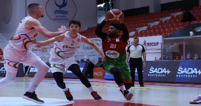 Pınar Karşıyaka, Aliağa Petkimspor'u yendi