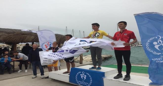 KSK'li yelkencilerden 2 birincilik 1 ikincilik
