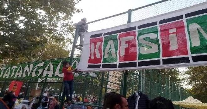 Taraftarlar İzmir için birleşti...