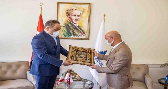 Başkan Soyer İran'ın İstanbul Başkonsolosunu ağırladı